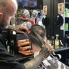 A Kildare barber is going massively viral for cutting hair with sheep shears