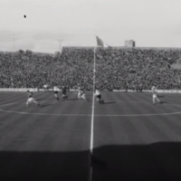 Clubs refusing to release players and multiple pitch invasions - Ireland-v-Austria in 1963