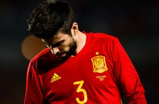 Pique blames the media after being subjected to whistles by Spain fans