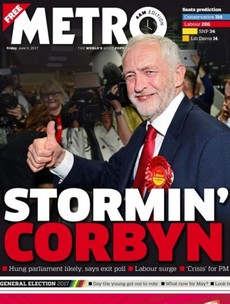 'Theresa Dismay': Here's how the UK papers are reacting to the historic election result