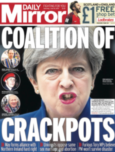 Tomorrow's UK papers will make grim reading for Theresa May