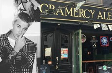 The great story of an Irish barman in New York asking Justin Bieber for ID because he didn't recognise him