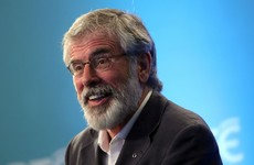 Adams hits back at 'hurler on the ditch' Martin over Sinn Féin abstentionism