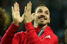 Zlatan takes to social media to show he's far from finished despite Man Utd release
