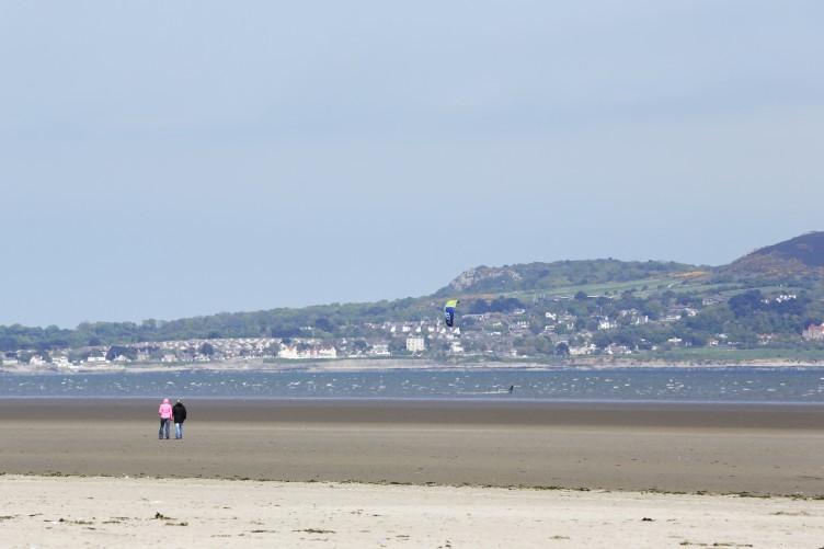 Dollymount beach.