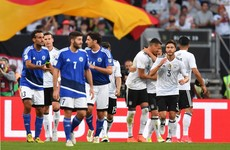 Germany score 7, Lewandowski bags a hat-trick, Eriksen nets for Denmark