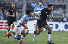 Solomona turns from villain to deliver late heroics for England in Argentina