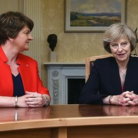 DUP denies it has made a deal with Theresa May