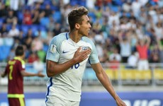 Everton striker fires England to first World Cup success at any level since 1966