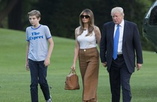 Melania and Barron Trump finally swap New York penthouse for the White House