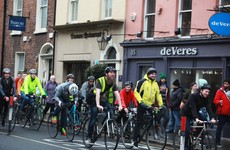 Three out of every four people that cycle every day in Ireland are men