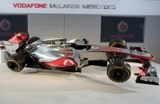 This is McLaren's all-new 2012 F1 car