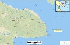 Ferry sinks off Papua New Guinea