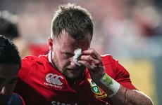 'I'm gutted' - Stuart Hogg ruled out of the rest of the Lions' tour