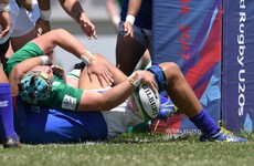 Ireland U20s make light work of Samoa to quash relegation fears