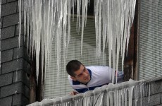 Heavy snowfall traps 11,000 people in Serbia