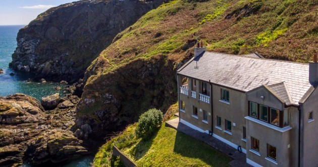 Wake up to sea views from this breathtaking cliff-top home in Howth