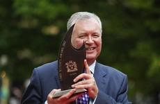 Joe Duffy given the Lord Mayor's Award for his contribution to Dublin society