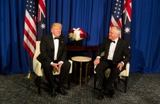 'The Donald and I, we are winning' - Australian PM caught on tape mocking Trump