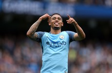 Man City's Jesus avoids surgery for eye socket fracture