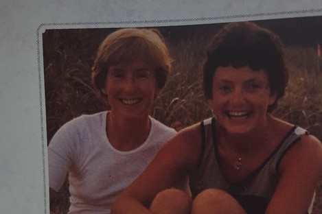 Gilligan and her wife Katherine Zappone