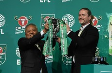 The first 'Carabao Cup' draw descended into an absolute farce earlier