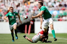 Keith Earls on fire again as Ireland run 7 past Japan