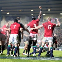 Lions pack sends out message to All Blacks with dominance in Rotorua