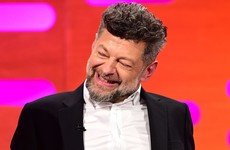 Andy Serkis did his Gollum voice on Graham Norton and made everybody's night