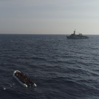 Irish Navy rescues over 700 people off Libyan coast