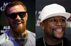 Mayweather says fight with McGregor is what people want