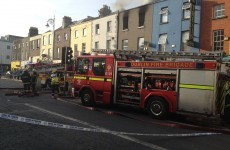 Fire causes part closure of Camden Street in Dublin