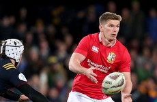 Lions have no doubt that Owen Farrell will be 100% fit for first Test