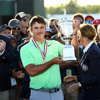 For the seventh straight time at a major there's a first-time winner as Brooks Koepka takes US Open