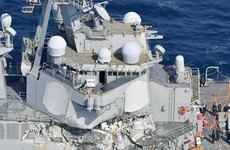 US Navy identifies sailors killed in crash with cargo ship
