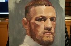 This brilliant oil portrait of Conor McGregor has gone viral on Reddit