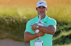 US Open champion Koepka reveals Johnson call helped him stay patient