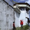 Four foreign prisoners have tunnelled out of a Bali jail