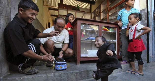 Meet Khagendra Thapa Magar: the world's newest smallest man