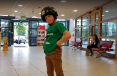 This 8-year-old Irish breakdancer was called a 'human fidget spinner' after he was filmed in Blanchardstown