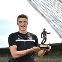 Delaney wins Player of the Month after establishing himself as one of the LOI's finest defenders