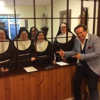 This photo of Marty Morrissey visiting a heap of nuns in Carlow is truly the most Irish photo ever