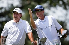 Phil Mickelson and long-time bagman 'Bones' are to part ways