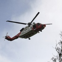 Young teenage girl airlifted to hospital after getting into difficulty swimming