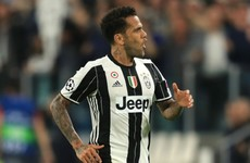Juventus confirm imminent Dani Alves exit as Man City move nears