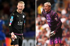 Kasper Schmeichel move to Man United would be 'a dream' for dad Peter