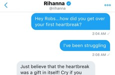 A fan asked Rihanna for breakup advice, and she had some excellent words of wisdom