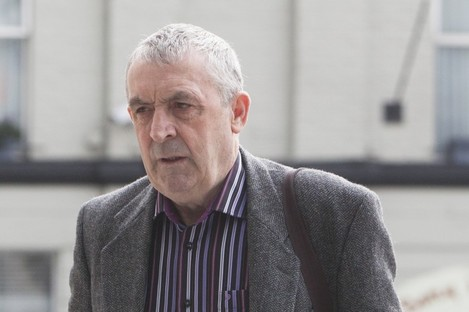 """Counsel for Frank Donaghy said it would be an """"injustice"""" for him to be convicted of false imprisonment in court today."""