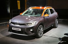 Get a first look at Kia's European-designed Stonic compact crossover