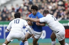 As it happened: France v Italy